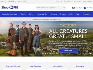 shop.pbs.org screenshot