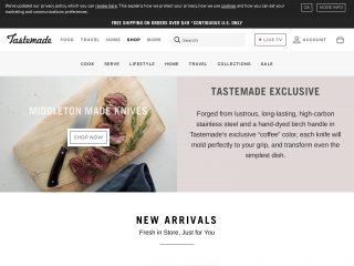 shop.tastemade.com screenshot