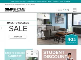 simpli-home.com screenshot