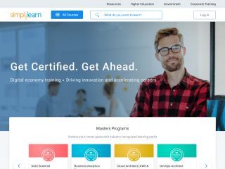simplilearn.com screenshot