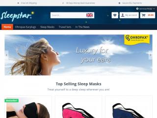 sleepstar.co.uk screenshot