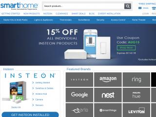 smarthome.com screenshot