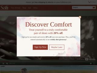 sofftshoe.com screenshot