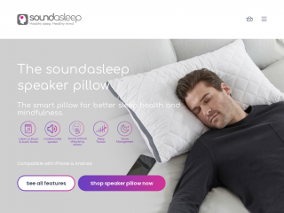 soundasleeppillow.co.uk screenshot