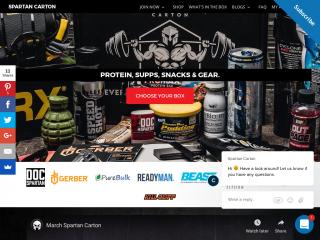 spartancarton.com screenshot