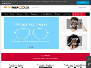 speckyfoureyes.com screenshot