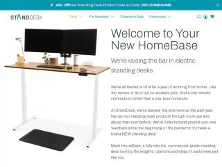 standdesk.co screenshot
