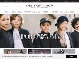 thebabyroom.co.uk screenshot
