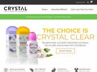 thecrystal.com screenshot