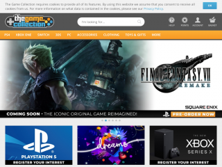 thegamecollection.net screenshot