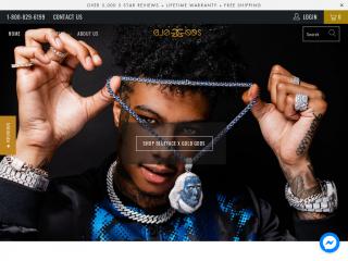 thegoldgods.com screenshot