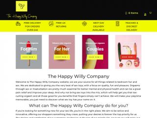 thehappywillycompany.co.uk screenshot