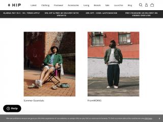 thehipstore.co.uk screenshot