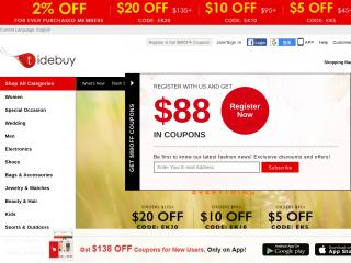 tidebuy.com screenshot