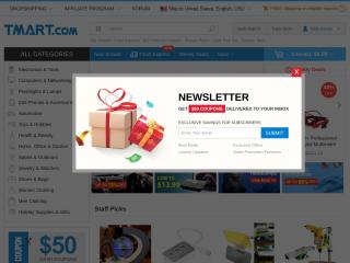 tmart.com screenshot