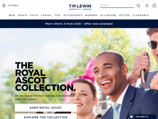 tmlewin.co.uk screenshot