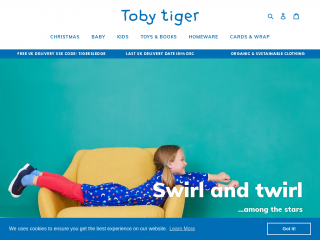 tobytiger.co.uk screenshot