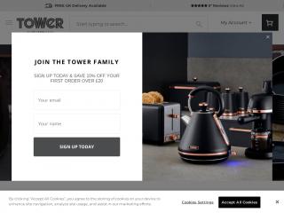 towerhousewares.co.uk screenshot