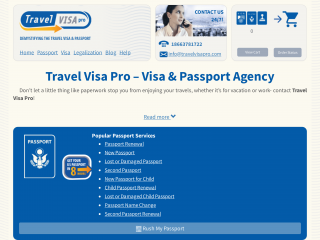 travelvisapro.com screenshot