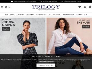 trilogystores.co.uk screenshot