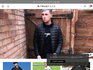 trueface.co.uk screenshot