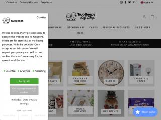 twobeeps.co.uk screenshot