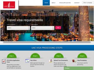 uaevisa-online.org screenshot
