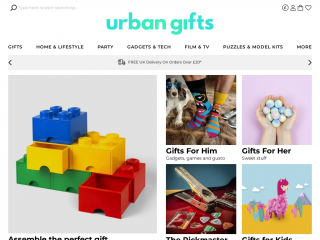 urbangifts.co.uk screenshot