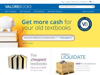 valorebooks.com screenshot