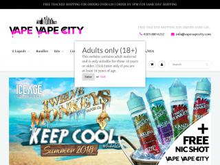 vapevapecity.com screenshot