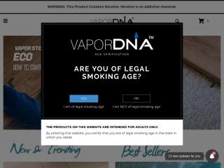 vapordna.com screenshot