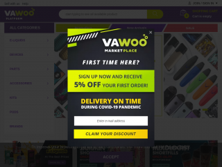 vawoo.co.uk screenshot