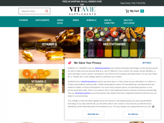 vitavie.co.uk screenshot
