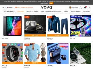 vova.com screenshot