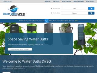 waterbuttsdirect.co.uk screenshot
