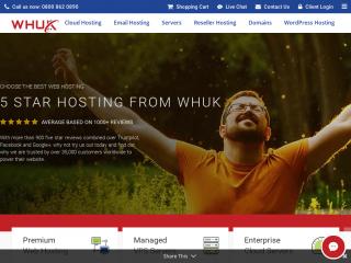 webhosting.uk.com screenshot