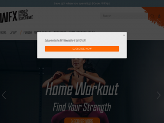 worldfitness.co screenshot
