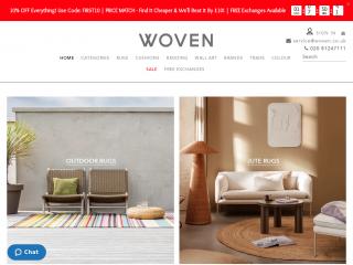 woven.co.uk screenshot