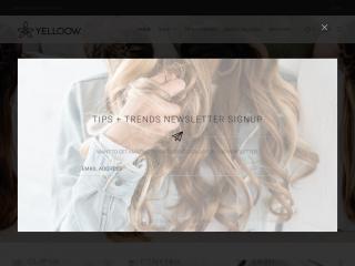 yelloowbeauty.com screenshot
