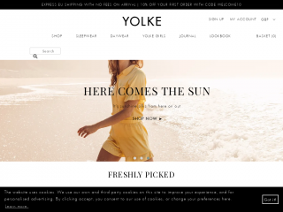 yolke.co.uk screenshot