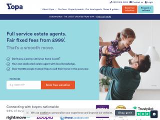 yopa.co.uk screenshot