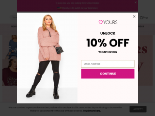 yoursclothing.com