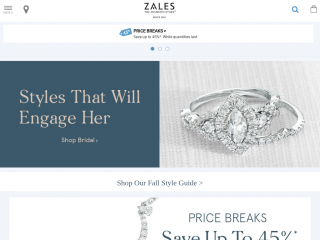 zales.com screenshot